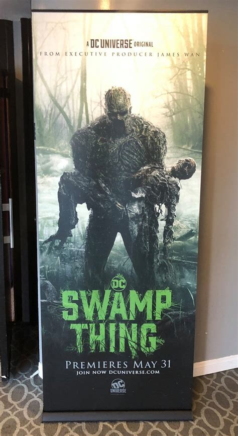 """Watch the Newest Trailer for DC Universe's """"SWAMP THING"""