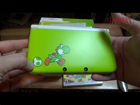 New Yoshi Edition 3DS XL Unboxing with New Yoshi's Island