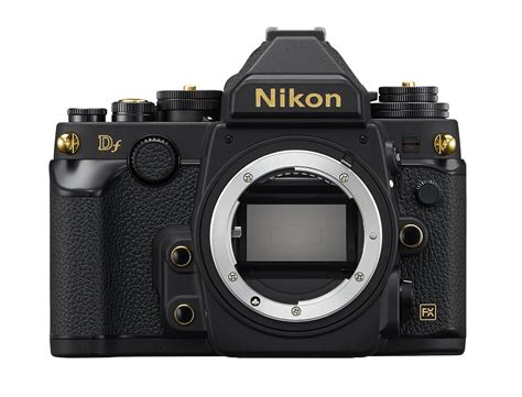 Gold Edition Nikon Df Announced in Japan, Available for