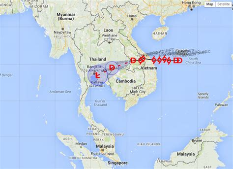 Tropical storm Vamco to bring heavy rain to Thailand
