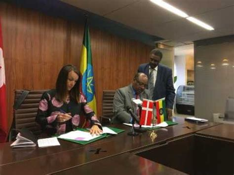 Ethiopia, Denmark sign grant agreement amounting over $21