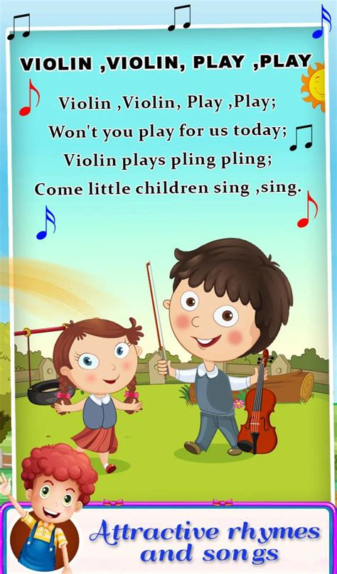 Nursery Rhymes Songs For Kids Android Casual App Source Code