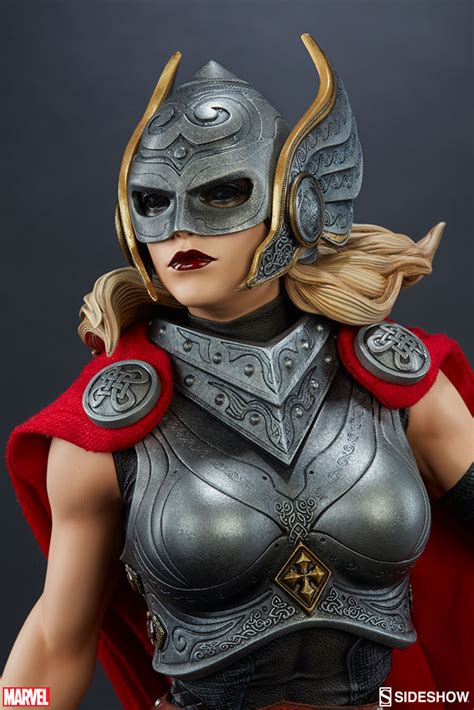 Sideshow Lady Thor Premium Format Statue Up for Order
