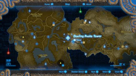 The Legend of Zelda: Breath of the Wild Shrine locations