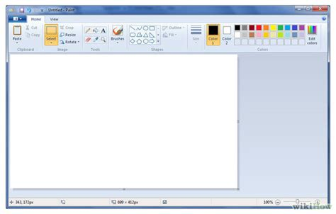 How to Draw a Logo in Microsoft Paint: 7 Steps (with Pictures)