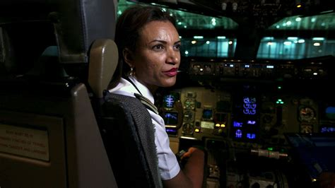 Photos: Meet the female pilots who are taking over