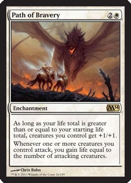 Path of Bravery from M14 Spoiler